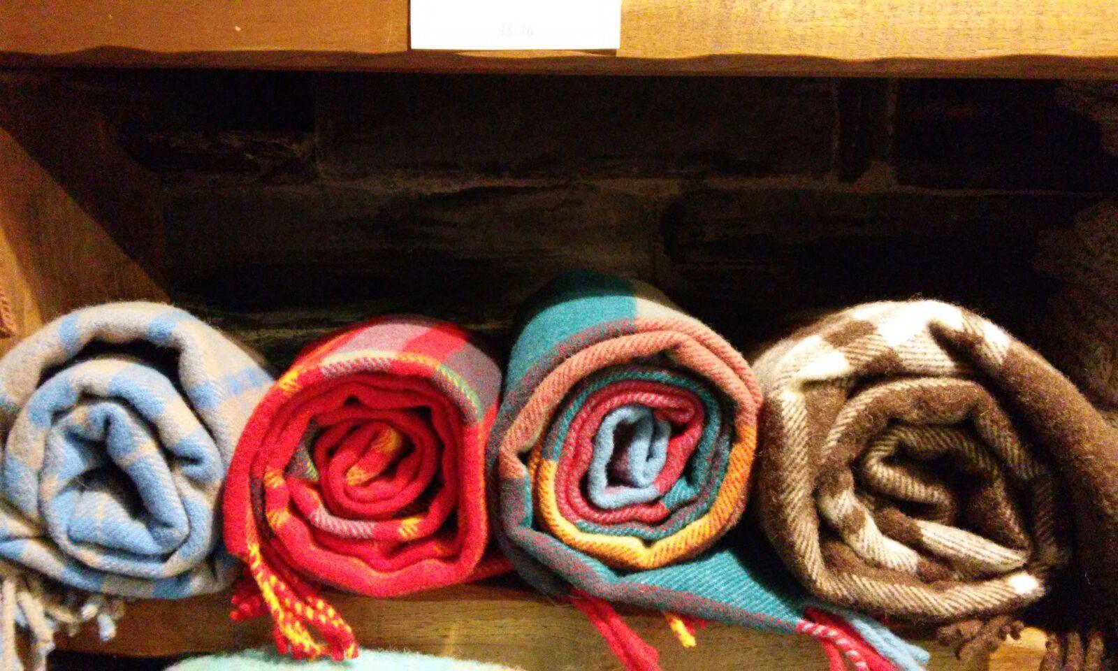 bufandas de lana