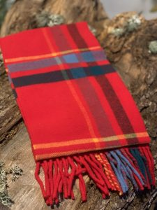 bufanda de lana merina