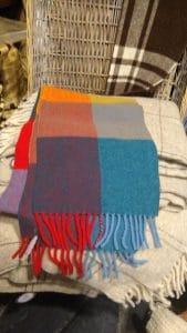 bufandas de lana merina