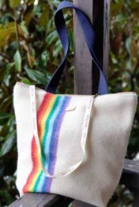 bolso hippie arco iris